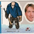 Patrick Roy 1998-99 UD Choice Mini Bobbing Head #BH21
