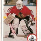 Ed Belfour 1990-91 Upper Deck French Star Rookie #55 RC