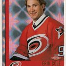 Erik Cole 2001-02 Pacific Heads Up #104 62/999 263/999 RC SN