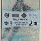 Mike Bossy 2006-07 Upper Deck Trilogy Frozen In Time #FT13 264/999 SN