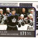 Drew Doughty 2010-11 Score Sudden Death #12