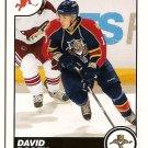 David Booth 2010-11 Score Glossy #217