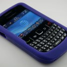 Soft Silicone Skin Cover Case for Blackberry Curve 8520 - Purple