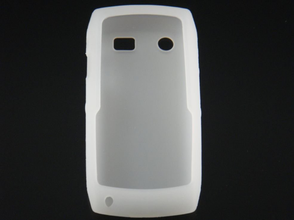 Soft Silicone Skin Cover Case for Blackberry Pearl 9100 - Clear