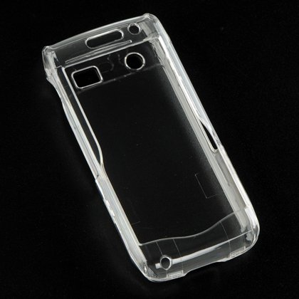 Hard Plastic Crystal Case for Blackberry Pearl 9100 - Clear