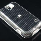 Hard Plastic Design Case for HTC Mytouch Slide 3G (T-Mobile) - Black Lines