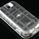 Hard Plastic Design Case for HTC Mytouch Slide 3G (T-Mobile) - Grey Check