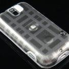 Hard Plastic Design Case for HTC Mytouch Slide 3G (T-Mobile) - Grey Check