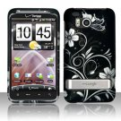 Hard Plastic Rubber Feel Design Case for HTC Thunderbolt 4G (Verizon) - Midnight Garden