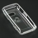 Hard Plastic Cover Case for LG Rumor Touch LN510 - Clear