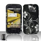 Hard Plastic Rubber Feel Design Case for Samsung Transform M920 - Midnight Garden