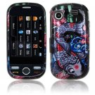 Hard Plastic Design Cover Case for Samsung Messager Touch R630 - Koi Fish