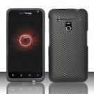 Hard Plastic Rubber Feel Design Case for LG Revolution 4G VS910 - Carbon Fiber