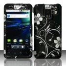 Hard Plastic Rubber Feel Design Case for LG Optimus G2x - Midnight Garden