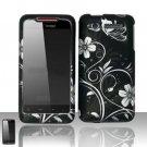 Hard Plastic Rubber Feel Design Case for HTC Merge 6325 - Midnight Garden