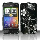 Hard Plastic Rubber Feel Design Case for HTC Incredible 2 6350 - Midnight Garden