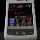 Hard Plastic Rubber Feel Case for Blackberry Storm 2 9520/9550 - Gray