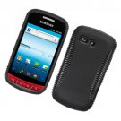 2-in-1 Hard Plastic and TPU Hybrid Case for Samsung Admire R720 - Black