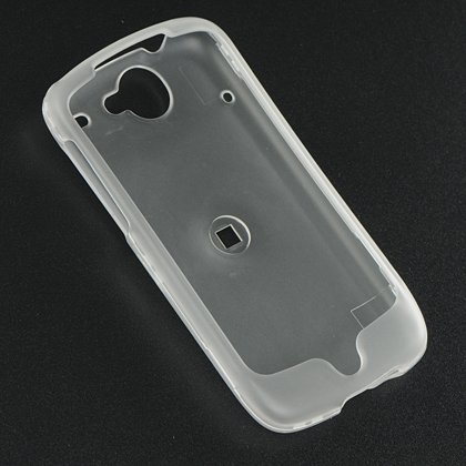 Hard Plastic Ice Case for HTC Google Nexus One - Clear