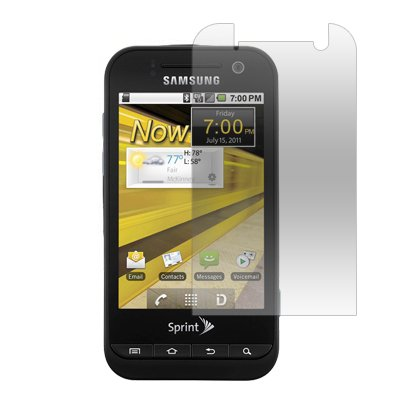 3-Pack Clear Screen Protectors for Samsung Conquer 4G D600