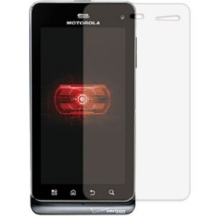 3-Pack Clear Screen Protectors for Motorola Droid 3