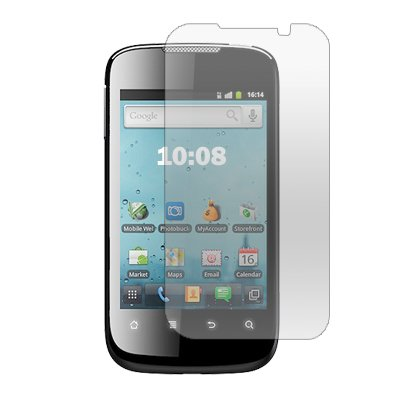 3-Pack Clear Screen Protectors for Huawei Ascend II M865
