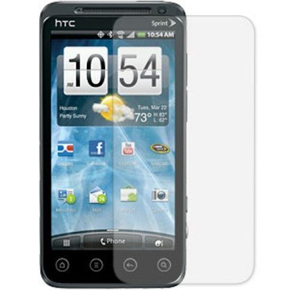3-Pack Clear Screen Protectors for HTC Evo 3D (Sprint)