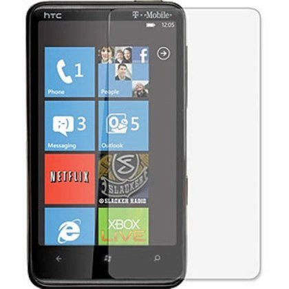 3-Pack Clear Screen Protectors for HTC HD7/HD7S