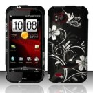 Hard Plastic Rubber Feel Design Case for HTC Rezound 6425 - Midnight Garden