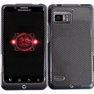 Hard Plastic Design Case for Motorola Droid Bionic Targa XT875 - Carbon Fiber