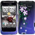 Hard Plastic Design Cover Case for HTC Radar 4G - Nightly Flowers