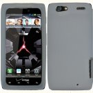 Soft Silicone Skin Cover Case for Motorola Droid RAZR XT912 - Clear