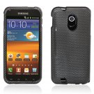 Hard Plastic Design Case for Samsung Galaxy S II Epic 4G Touch - Carbon Fiber