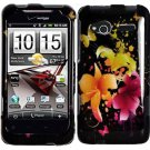 Hard Plastic Design Cover Case for HTC Radar 4G - Heavenly Flowers