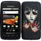 Hard Plastic Design Case for Motorola Droid 3 - Black Zombie Hand