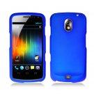 Hard Plastic Rubber Feel Case for Samsung Galaxy Nexus CDMA i515/i9250 (Verizon/Sprint) - Blue