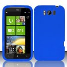 Soft Silicone Skin Cover Case for HTC Titan X310e - Blue