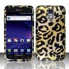Hard Plastic Rubber Feel Design Case for Samsung Galaxy S II Skyrocket (AT&T) - Golden Cheetah
