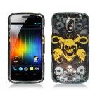 Hard Plastic Design Case for Samsung Galaxy Nexus CDMA i515/i9250 (Verizon/Sprint) - Yellow Skull