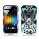 Hard Plastic Design Case for Samsung Galaxy Nexus CDMA i515/i9250 (Verizon/Sprint) - Skull & Wings