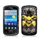 Hard Plastic Design Case for Samsung Stratosphere i405 - Yellow Skull