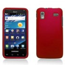 Hard Plastic Rubber Feel Case for Samsung Captivate Glide 4G (AT&T) - Red
