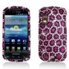 Hard Plastic Bling Rhinestone Design Case for Samsung Stratosphere i405 - Colorful Leopard