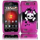 Hard Plastic Design Case for Motorola Droid 4 XT894 (Verizon) - Girly's Skull