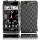Hard Plastic Design Case for Motorola Droid RAZR Maxx XT916 - Carbon Fiber