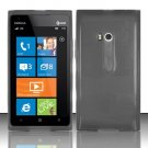 Soft TPU Gel Skin Cover Case for Nokia Lumia 900 (AT&T) - Smoke