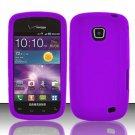 Soft Silicone Skin Cover Case for Samsung illusion i110 (Verizon) - Purple