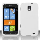 Soft Silicone Skin Cover Case for Samsung Focus S i937 (AT&T) - White
