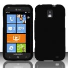 Soft Silicone Skin Cover Case for Samsung Focus S i937 (AT&T) - Black