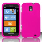 Soft Silicone Skin Cover Case for Samsung Focus S i937 (AT&T) - Hot Pink